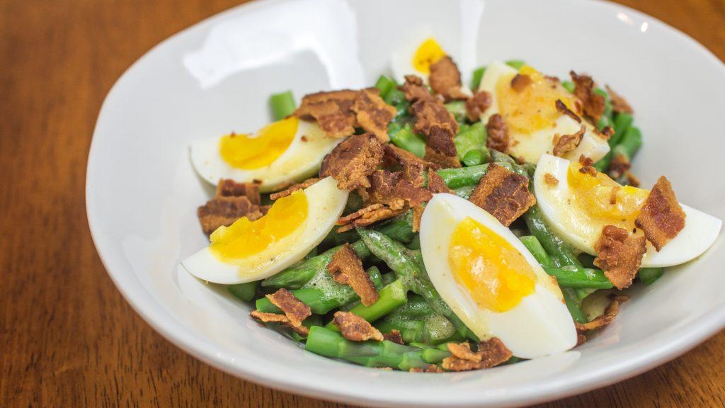 Salada de aspargos