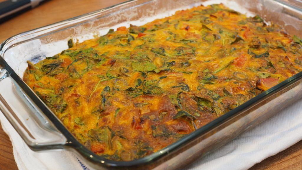 Torta Fácil Vegetariana
