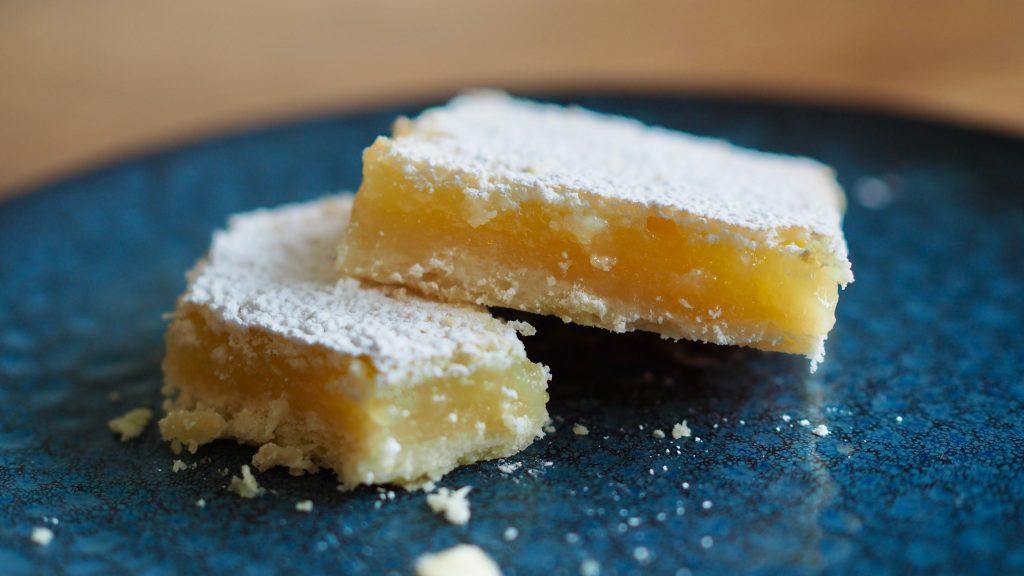 barrinhas de limão